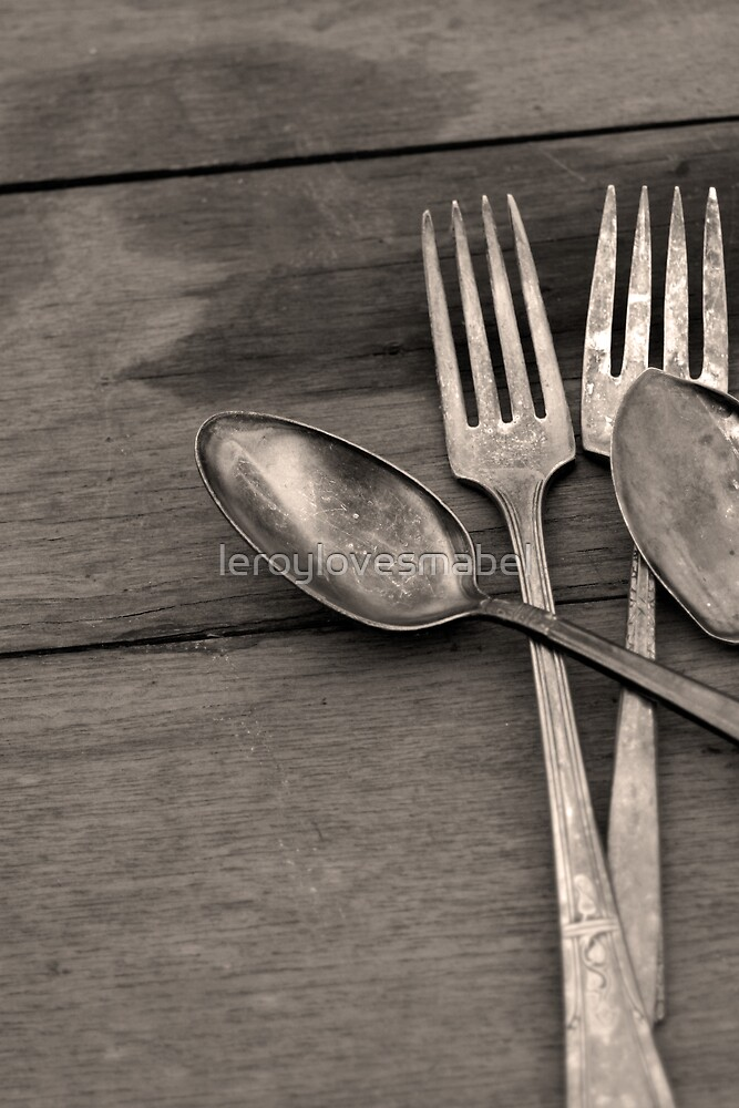 silverware by leroylovesmabel