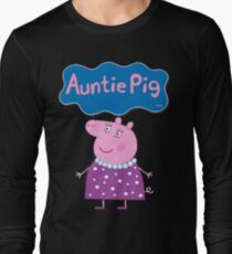 Peppa Pig, Auntie Pig, Aunt Pig Long Sleeve T-Shirt