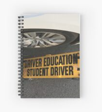 Driver Education  Spiral Notebook