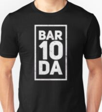 Bar 10 Da T-Shirt Bartender Shirt Funny Novelty Gift For Men and Women Unisex T-Shirt