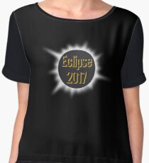 Solar Eclipse 2017 Date 8.21.17 Women's Chiffon Top