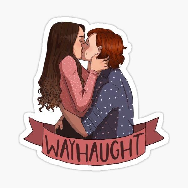 wayhaught 8 Sticker