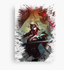 League of Legends KAYN Canvas Print