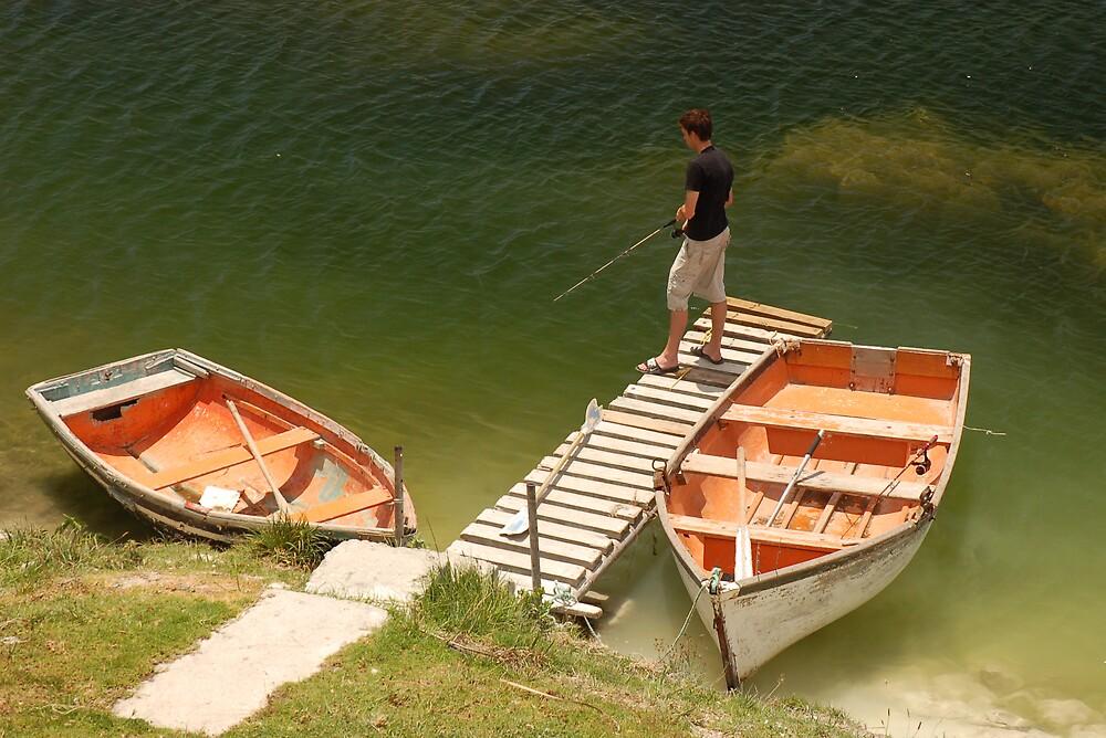 Fishing Boy by Simon Gottschalk