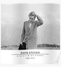 David Sylvian A Victim of Stars Poster