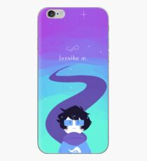 breathe out. iPhone Case