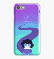 breathe out. iPhone Case/Skin