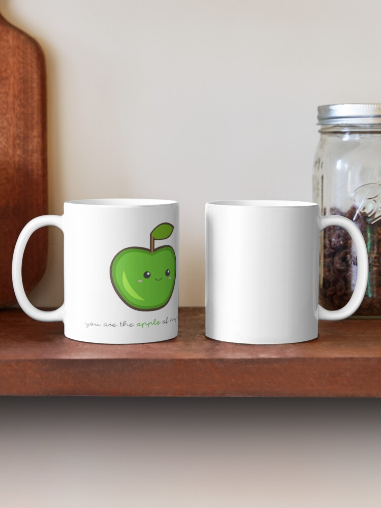 Alternate view of Fruit Puns - You are the apple of my eye Mug