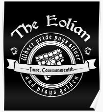 The Eolian Bar (Name of the Wind) Poster