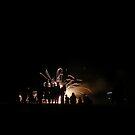 Admist the Fireworks by elasita