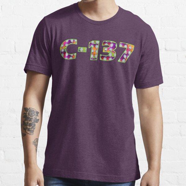 C-137 - Rick and Morty - C137 - Rick Sanchez - C137 - Psychedelic Trippy Dimension Fractal Essential T-Shirt