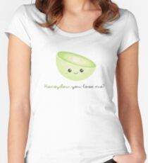 Fruit Puns - Honeydew you love me Women's Fitted Scoop T-Shirt