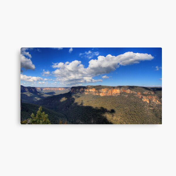 Grose Valley (East), NSW Canvas Print