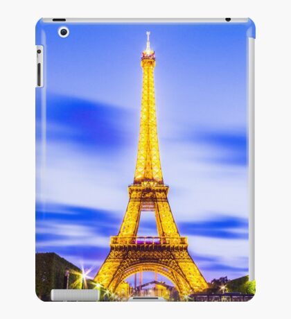Eiffel Tower 7 iPad Case/Skin
