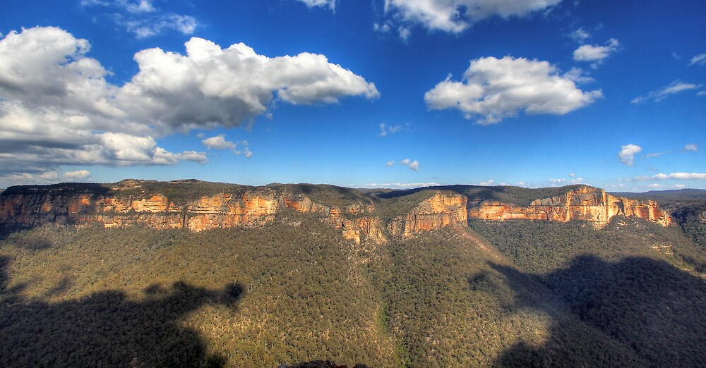 Grose Valley (West), NSW by Darren Post