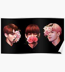 ❀ Flowers + Maknae Line ❀ Poster