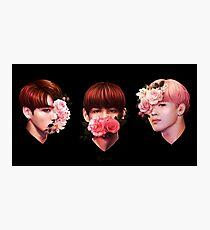 ❀ Flowers + Maknae Line ❀ Photographic Print