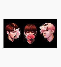 ❀ Flowers + Maknae Line ❀ Photographic Print