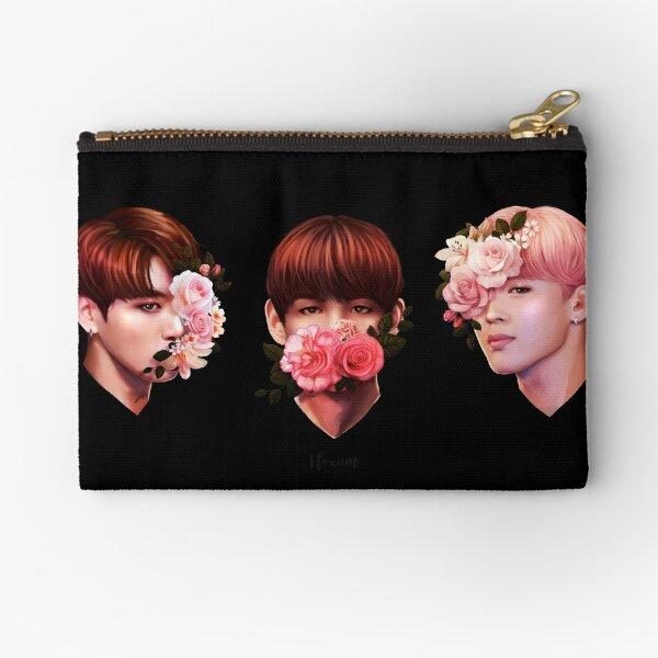 ❀ Flowers + Maknae Line ❀ Zipper Pouch
