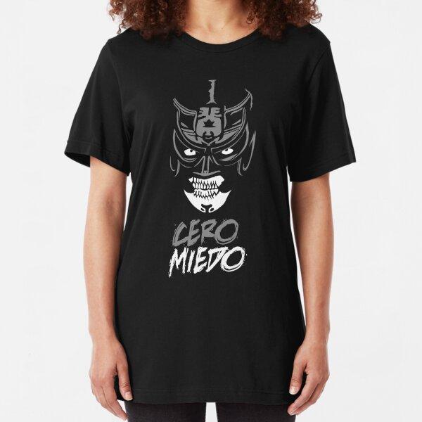 Cero Miedo - Pentagon Dark Lucha Underground Wrestler Slim Fit T-Shirt