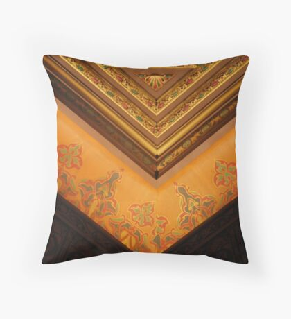 United Palace Theater Ceiling Throw Pillow