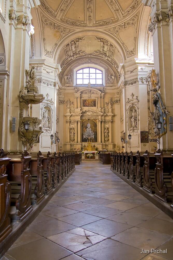 Valtice church interior by Jan Prchal
