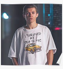 Tom Holland - I Survived NYC Poster