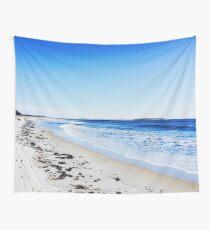 Bright Sea Beach Photography Wall Tapestry