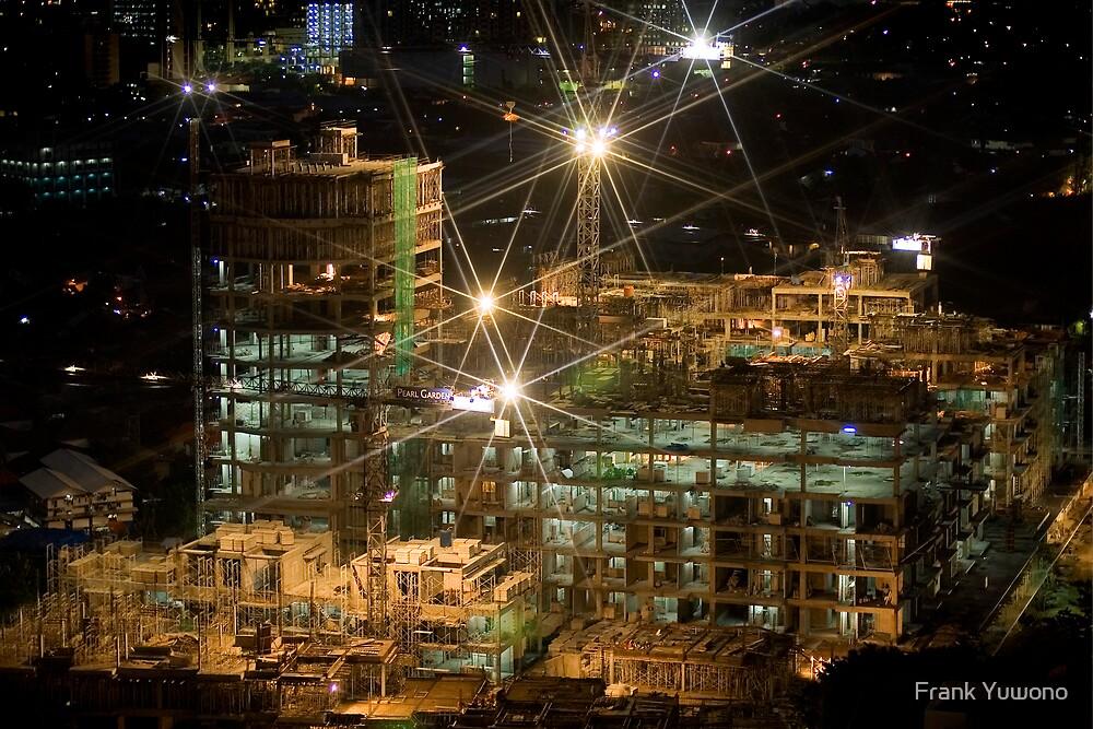 Night Construction by Frank Yuwono