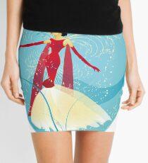 Lady in Red © hatgirl.de (Retro, For Kids, Feminine) Mini Skirt