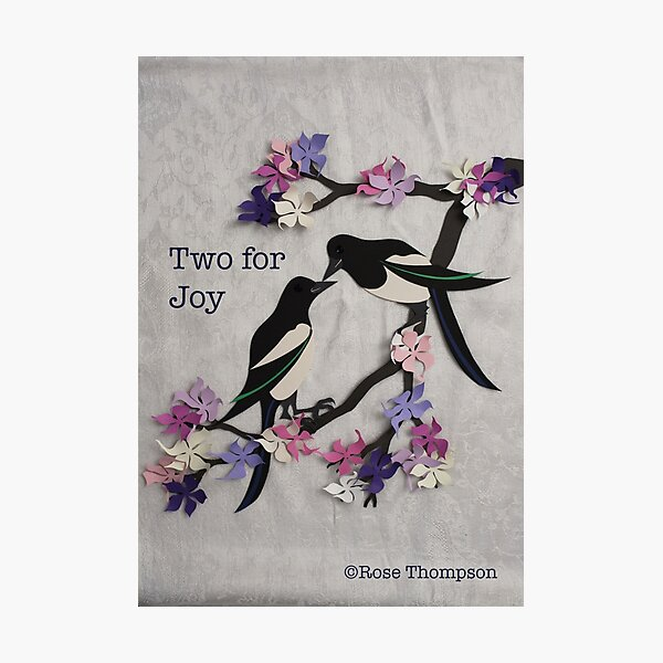 Two for Joy Photographic Print