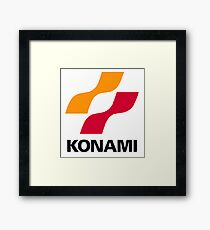 Konami logo Framed Print