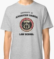 university of american samoa law school vintage Classic T-Shirt