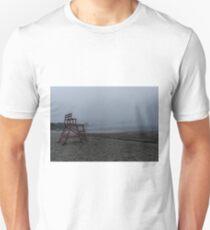 Niles Beach Foggy Evening T-Shirt