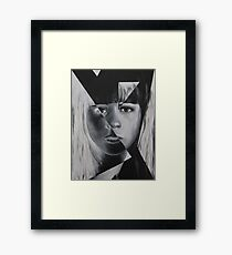 Portrait of a woman 4 Framed Print