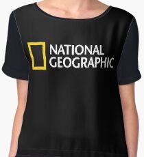 National Geographic Merchandise Women's Chiffon Top