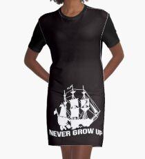 Peter Pan - Never grow up Graphic T-Shirt Dress