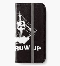 Peter Pan - Never grow up iPhone Wallet/Case/Skin