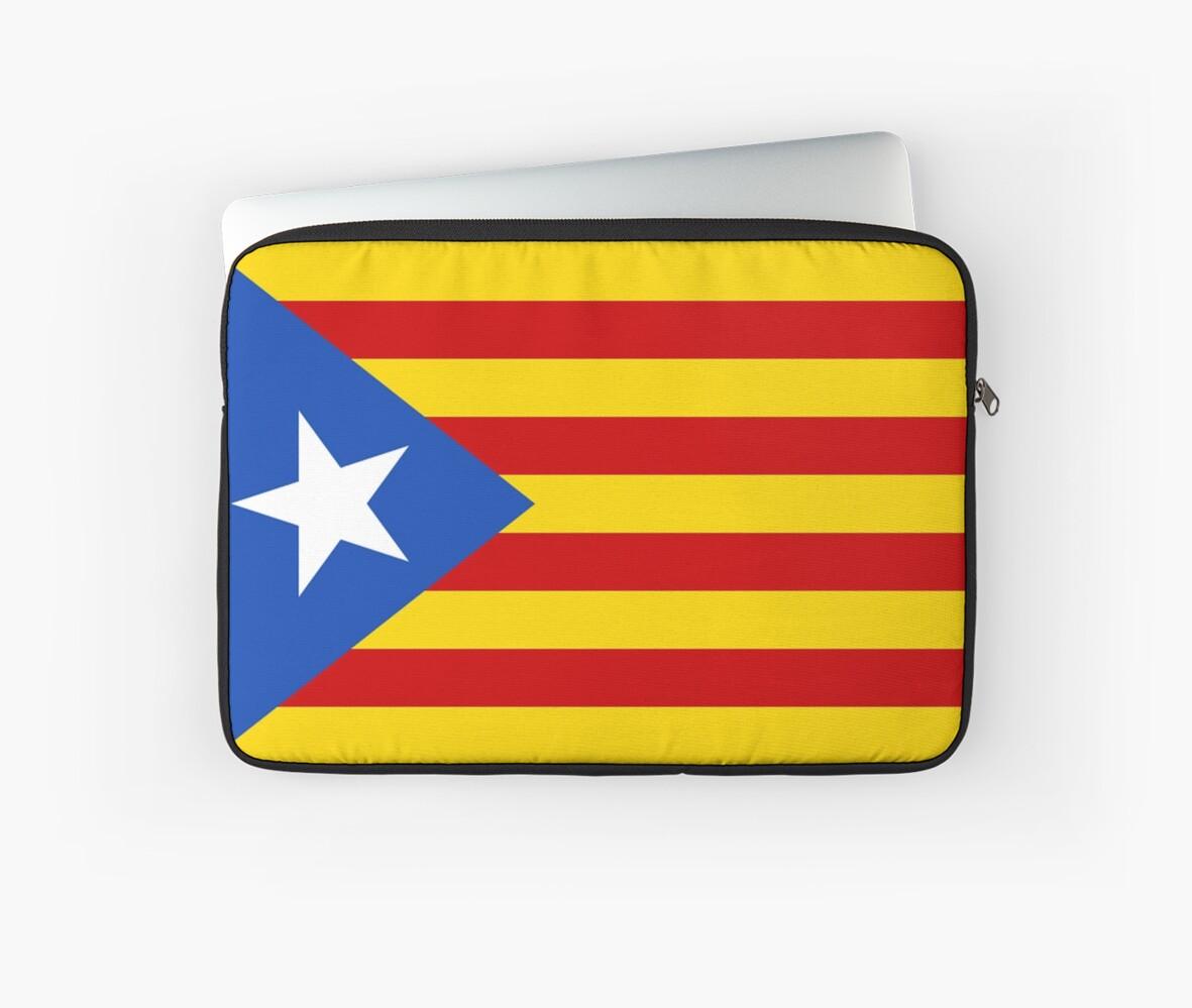 Estelada Flag, Catalan, Spain Spanish, Blue Estelada, Senyera ...