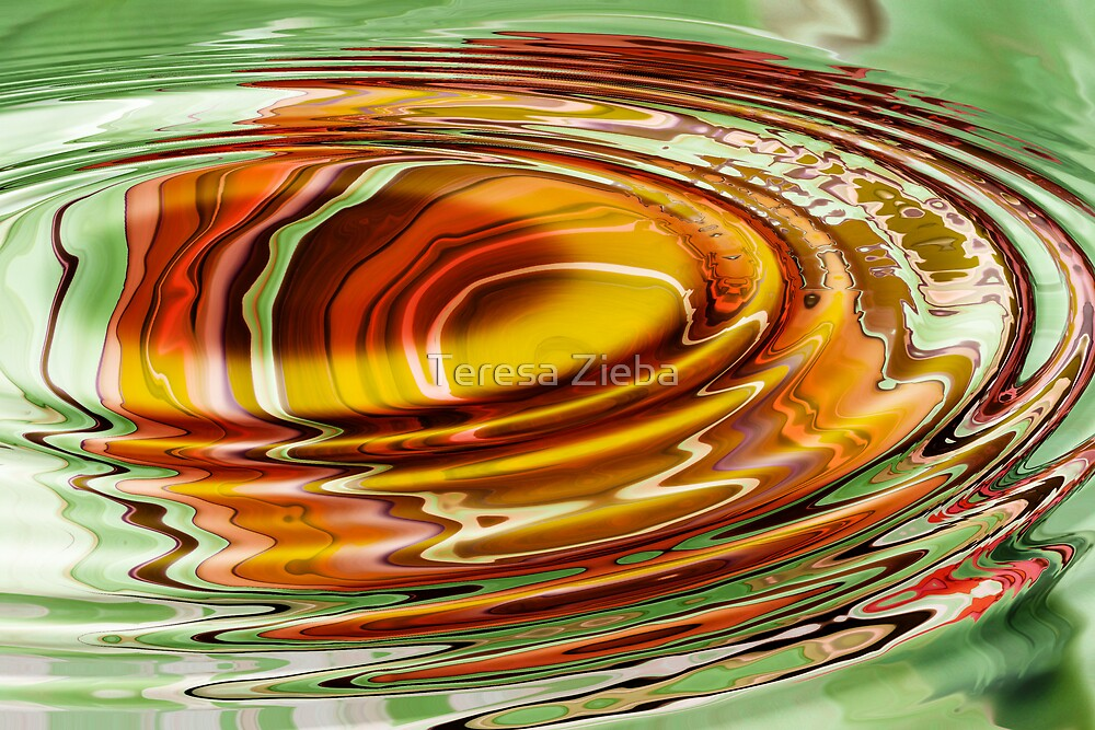 Rippled Abstract by Teresa Zieba