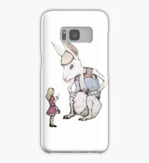 Jefferson Hare and the Child in Pink Samsung Galaxy Case/Skin
