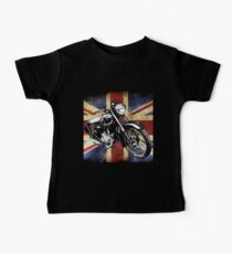 Classic BSA Motorcycle by Patjila Baby Tee