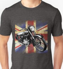 Classic BSA Motorcycle by Patjila Unisex T-Shirt