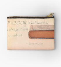 Jane Austen Studio Pouch