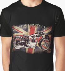 BSA British Finest Motorcycle Graphic T-Shirt