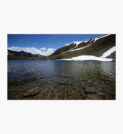 Small Lake on Loveland Pass, Colorado Photographic Print