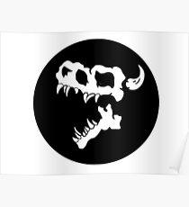 Kaiju Kid Logo Poster