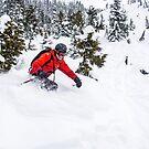 Getting Deep in the Whistler Pow Pow by Ryan Davison Crisp