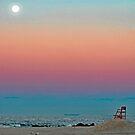 Sunrise Moon by AnneDB