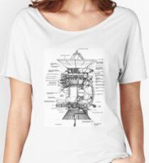 NASA - Cassini-Huygens Probe Diagram Women's Relaxed Fit T-Shirt